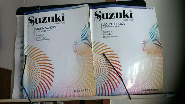 스즈키 바이올린 교본 1과 2 ...