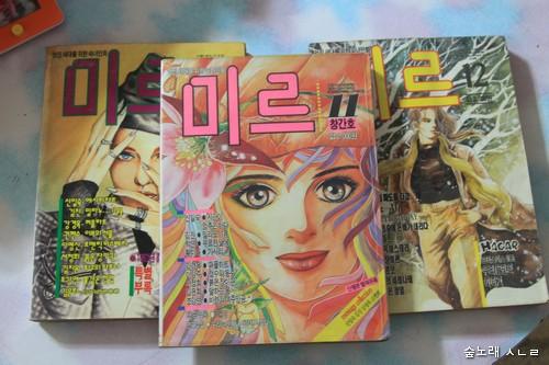 1990년대에 나온 순정만화 잡지 가운데 하나인 <미르>