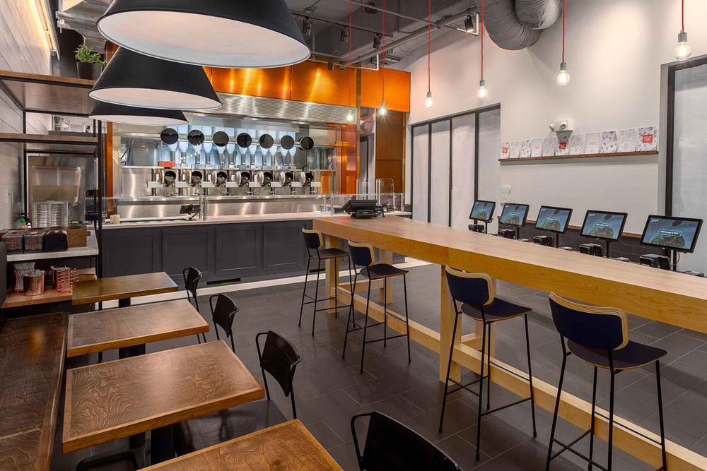 세계 최초 로봇 레스토랑 '스파이스'