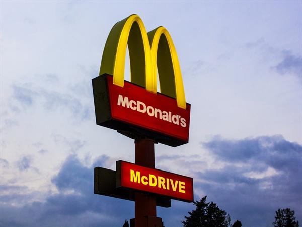맥도날드.