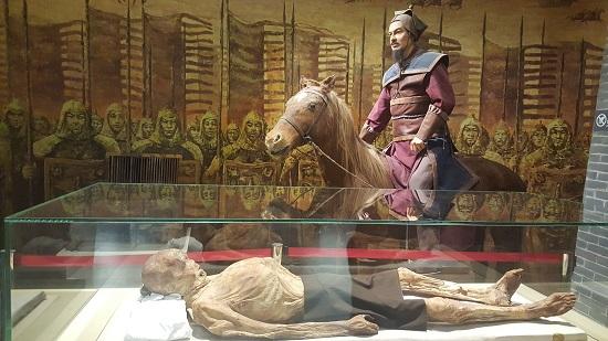 한 나라 때 장군 미라(585-633 AD)