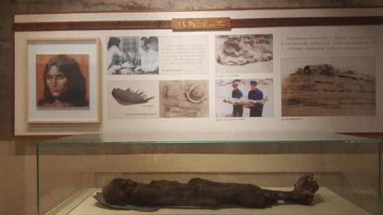 '누란의 미녀'로 일컬어지는 3800년 전의 15세로 추정되는 미라