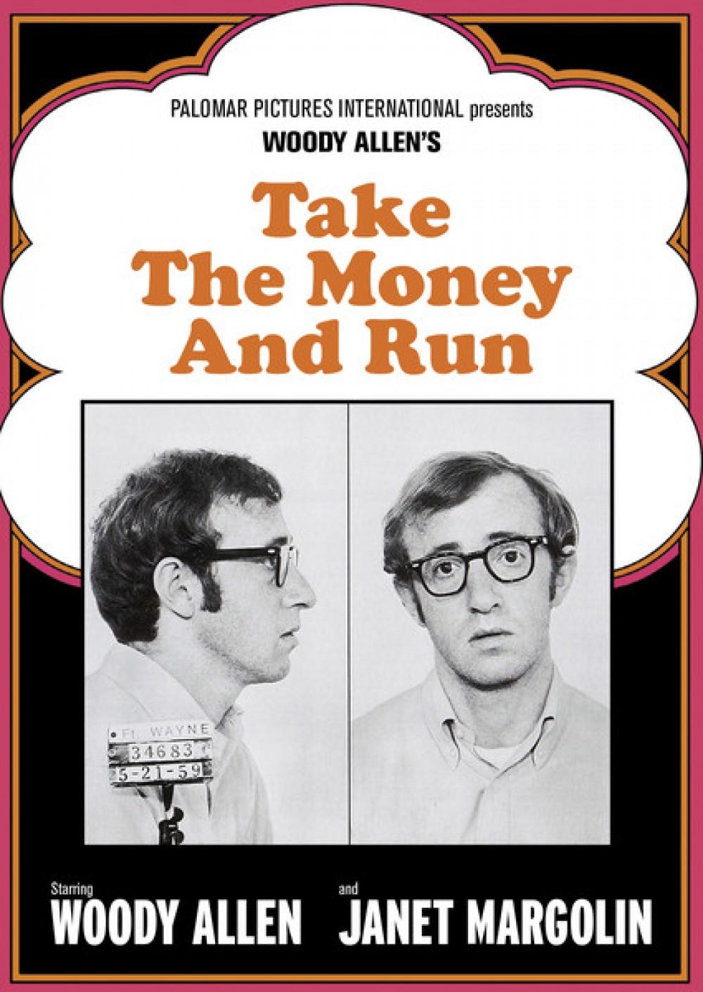 [돈을 갖고 튀어라]영화 포스터