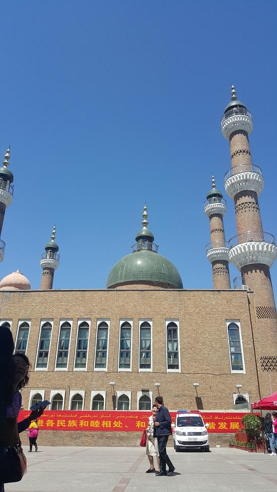 우루무치 국제 대 바자르 소재의 이슬람 사원