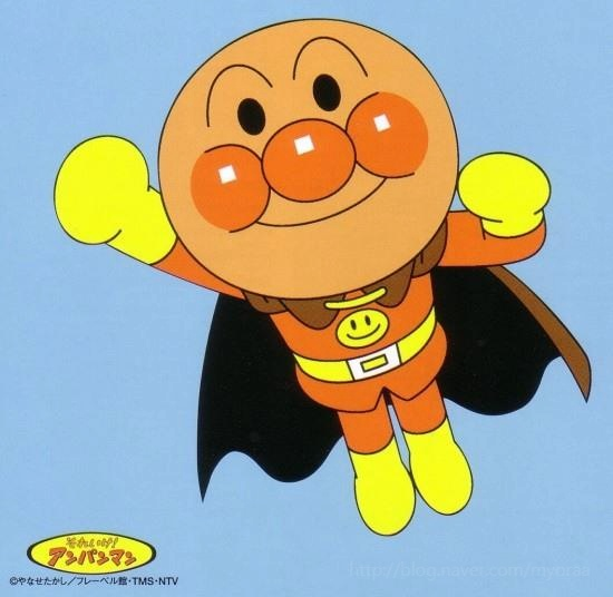 호빵맨 호빵맨은 세상에서 가장 약한 영웅이다.