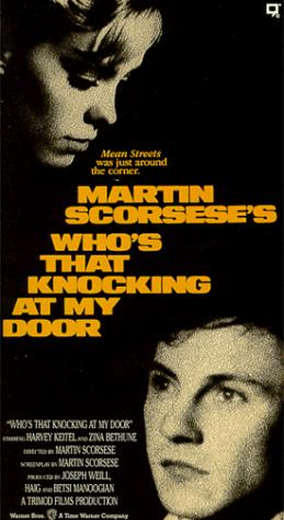영화 <누가 내 문을 두드리는가?> 포스터.