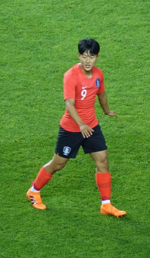 1일 오후 8시 전주월드컵경기장에서 열린 대한민국과 보스니아 헤르체고비나의 친선 경기에서 후반전에 교체 투입된 이승우.