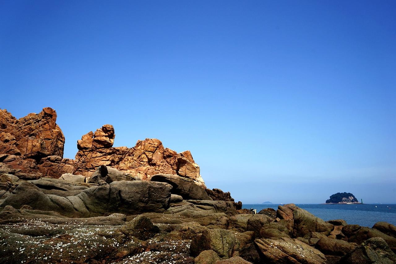 무의도의 해변 풍경