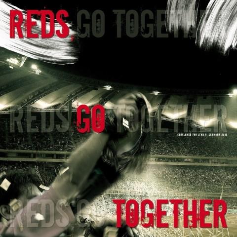 2006 남아공월드컵을 맞아 제작된 < Reds Go Together >표지