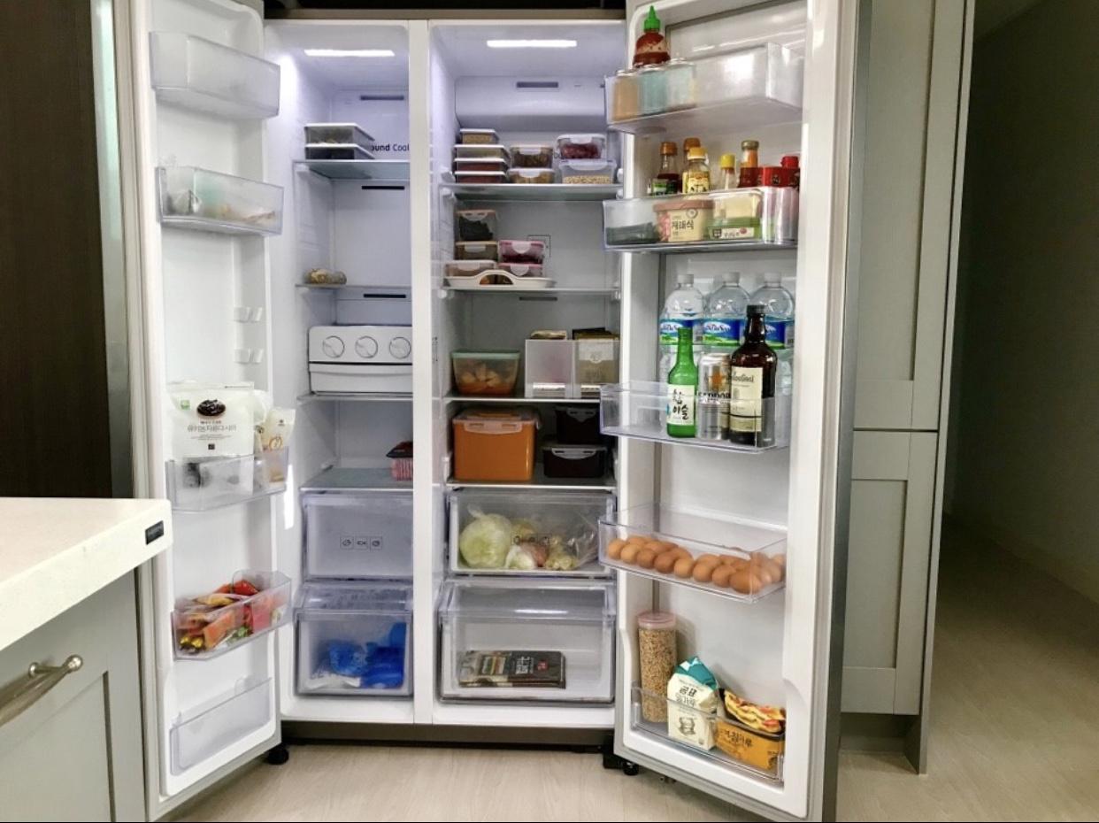 냉장고 정리 애프터