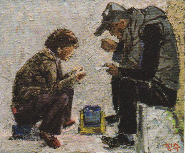 박진수, 라면 박진수, <라면>, 455×379, Oil on Canvas,2017