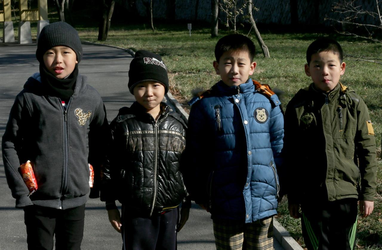 평양의 학생들3