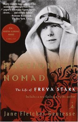 프레야 스타크의 일대기를 다룬 책 표지 국내에선 <정열의 방랑자 프레야 스타크>라는 제목으로 출간되었다.