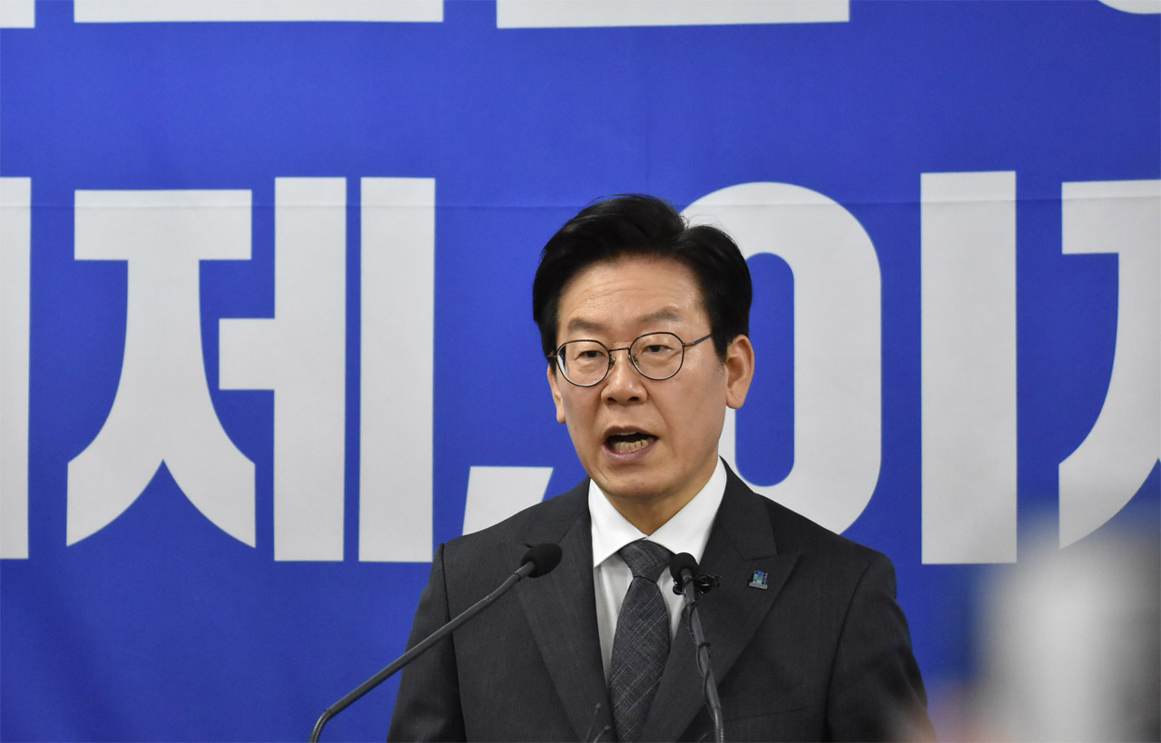 더불어민주당 이재명 경기지사 후보