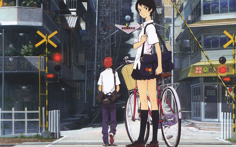 영화 <시간을 달리는 소녀>의 작품 포스터