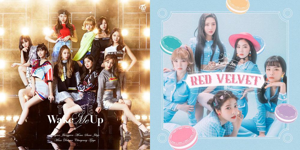 트와이스와 레드벨벳은 일본어 녹음 음반을 통해 각각 일본 시장 공략에 나섰다.