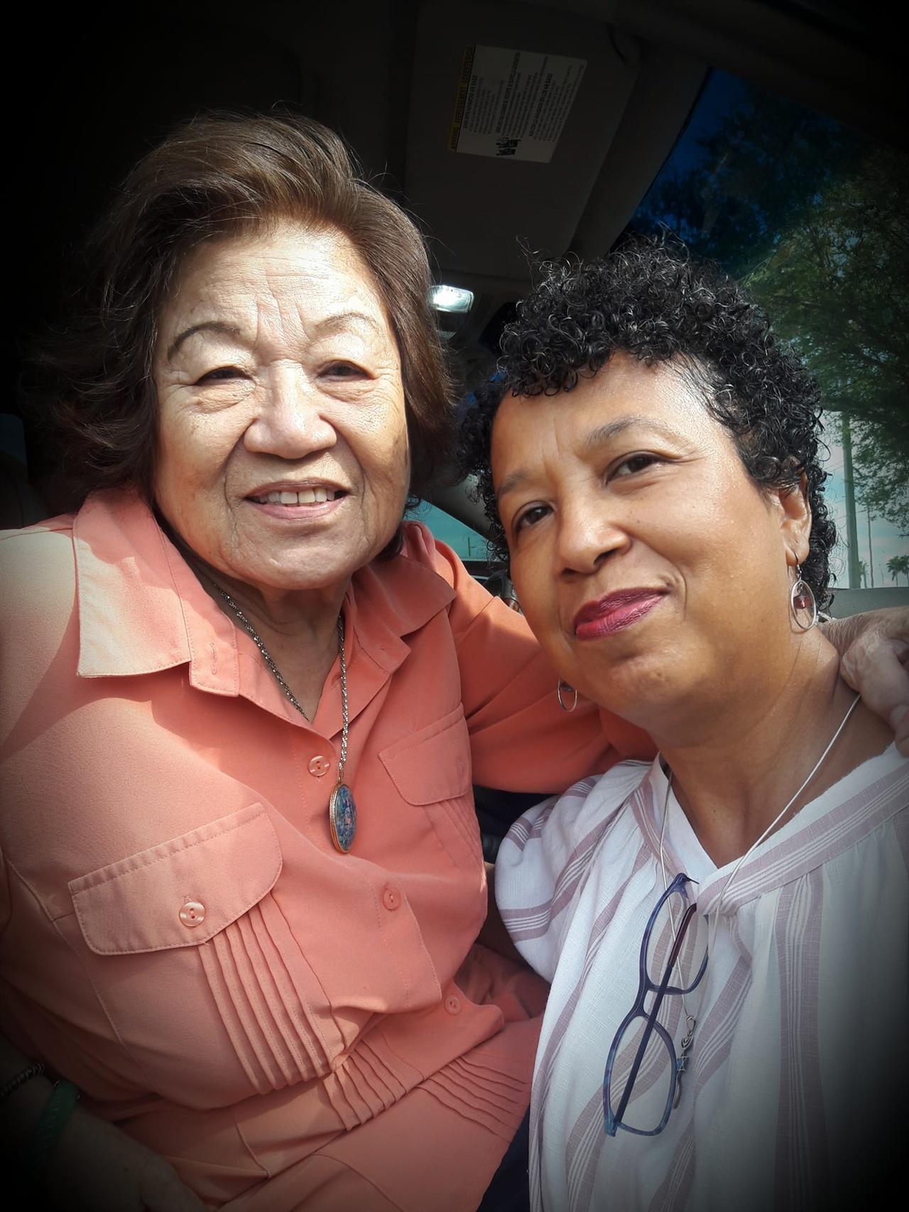 지난 2월 59년만에 친모와 재회한 김수자씨