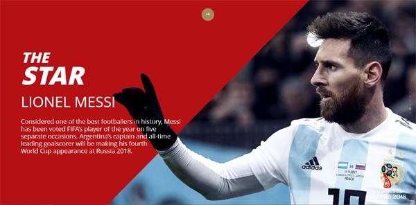 리오넬 메시는 지난 브라질 월드컵에서 놓친 월드컵 우승을 위해 마지막이 될지 모를 도전을 하고 있다.
