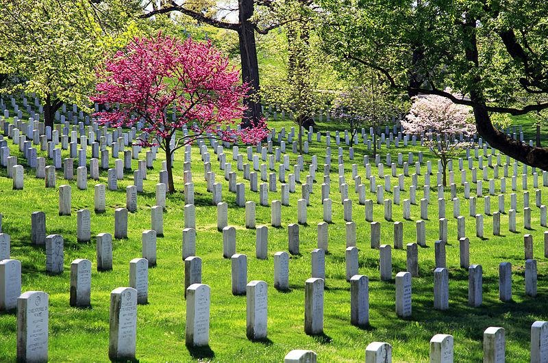 알링턴 국립묘지.