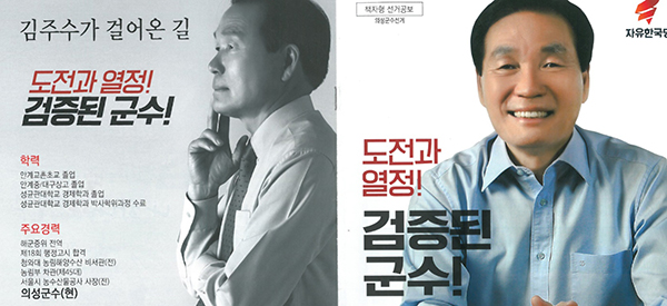 김주수 의성군수 공보물 이미지 캡처