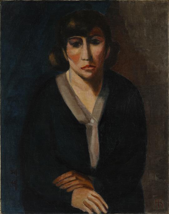 자화상(1928년, 나혜석, 수원 시립 아이파크 미술관)