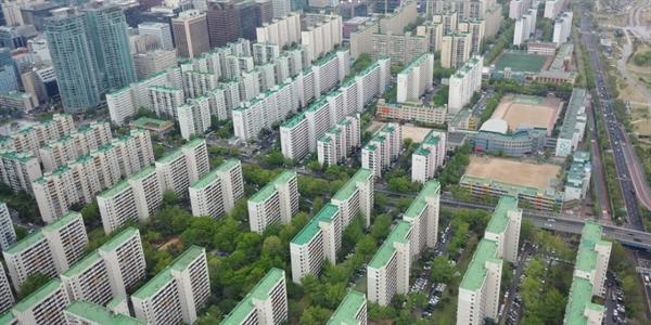 서울 여의도의 한 아파트 단지