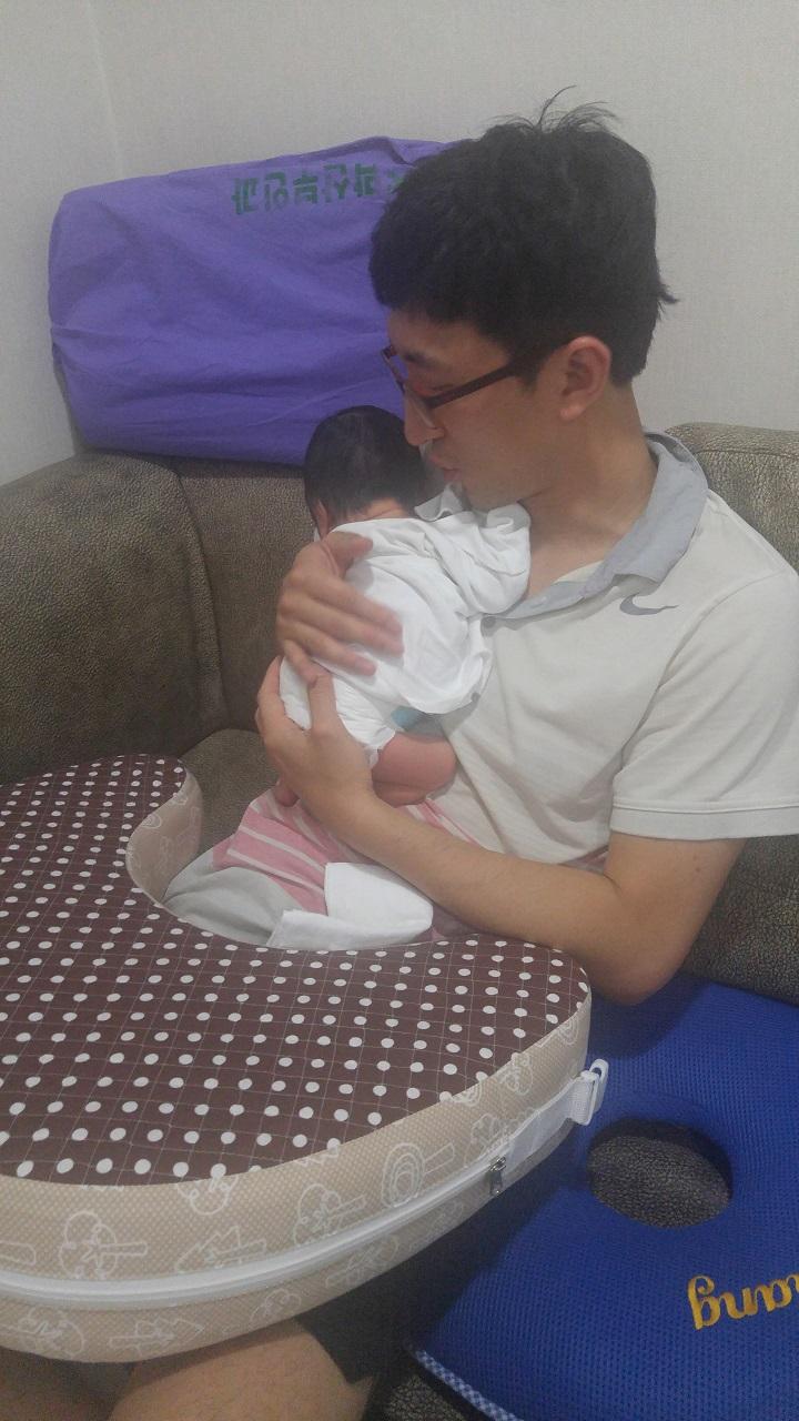아빠와 아기