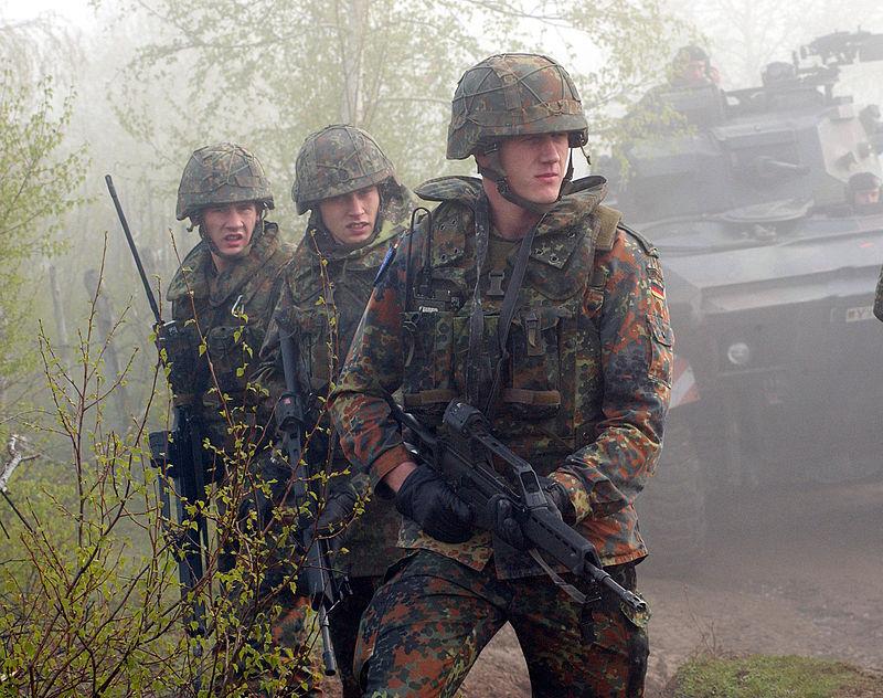 서독 군인들.