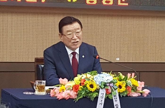 민선 7기 제 41대 김석환 홍성군수 취임 .