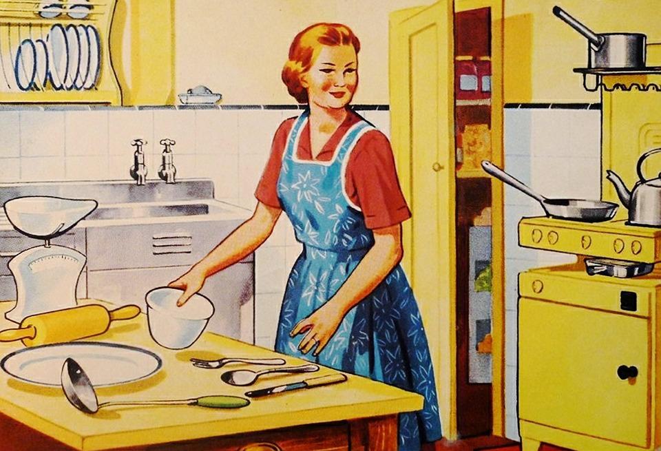 며느리가 시댁에서 요리를 하거나 배우는 상황은 결국 자신이 원해서라기보다는 남편을 위한 것일 수밖에 없다.