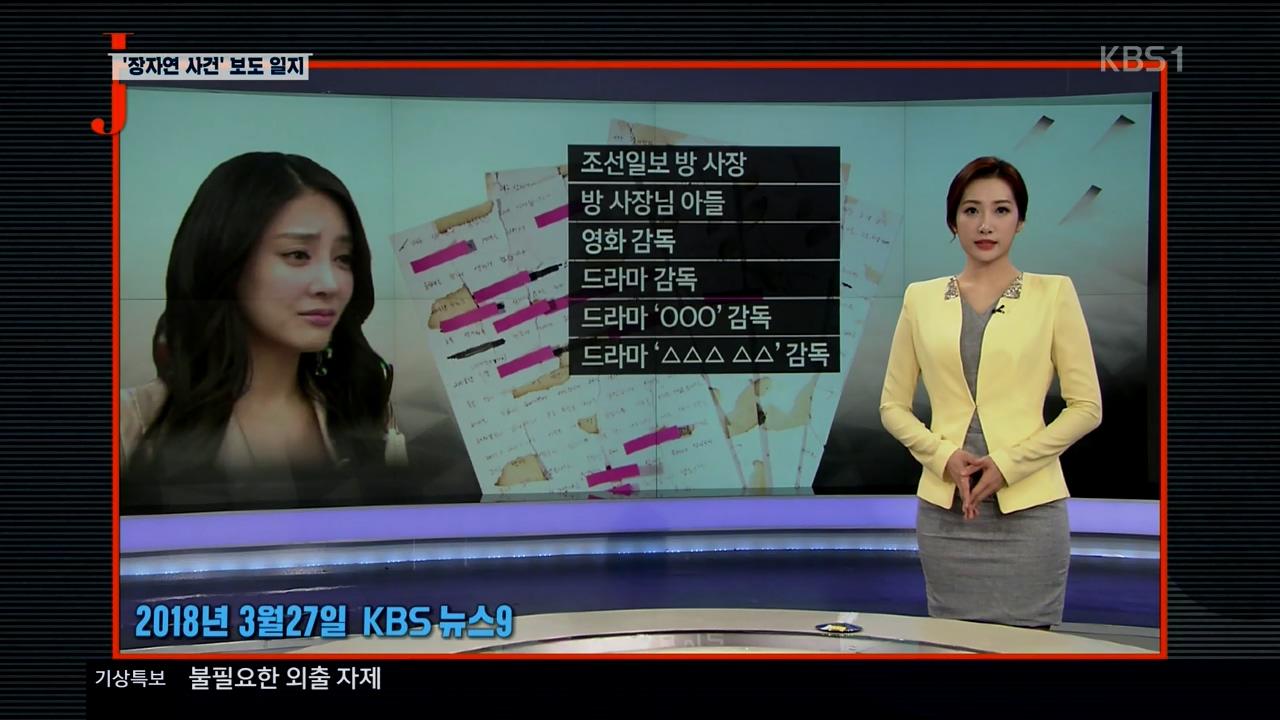 지난 1일 방송된 <저널리즘 토크쇼 J>의 한 장면.