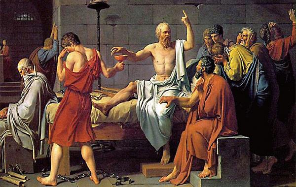 소크라테스는 죽음을 반겼다. 오죽하면 크산티페라는 악처에게서 벗어나려고 독배를 들이켰다는 말이 다 나왔겠는가.