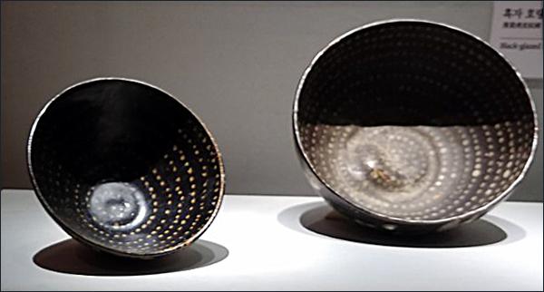 흑자 대접3  자고무늬 흑자 대접