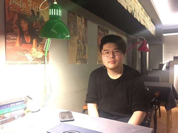 단편영화 상영관 '자체휴강시네마'의 박래경 대표.