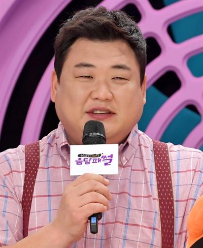 10일 서울 목동에서 열린 SBS PLUS <음담패썰> 기자간담회에 참석한 김준현.