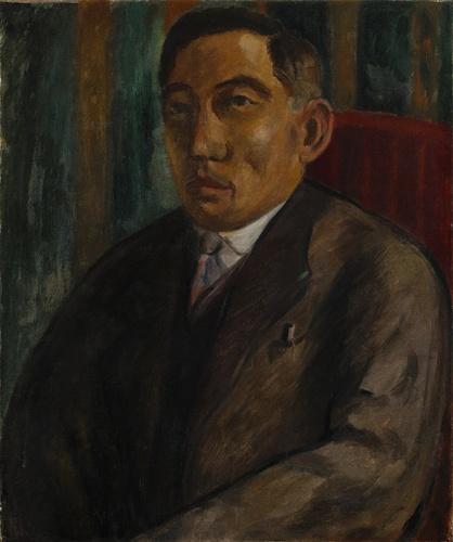 김우영 초상화(1928년경, 나혜석,수원아이파크 시립미술관)