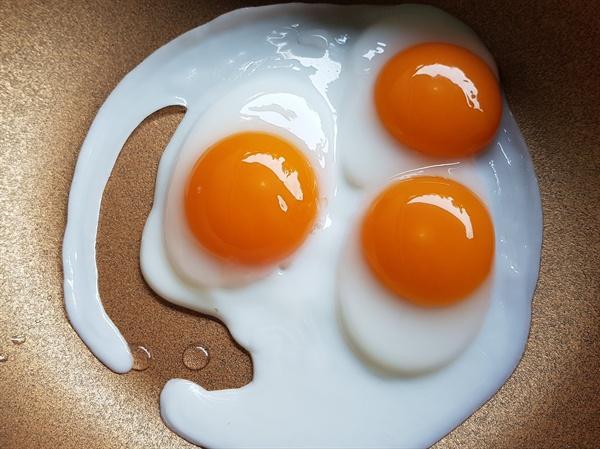 달걀부침. 일명 '계란후라이'.