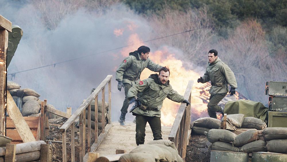 터키군 부대는 인민해방군의 급습을 받는다.