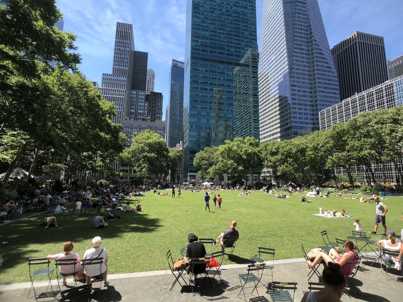 내 마음 속 뉴욕 최고의 공원 '브라이언트 파크'