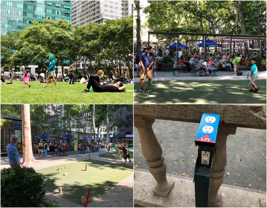 누구에게나 열린 모두를 위한 공원  '브라이언트 파크'