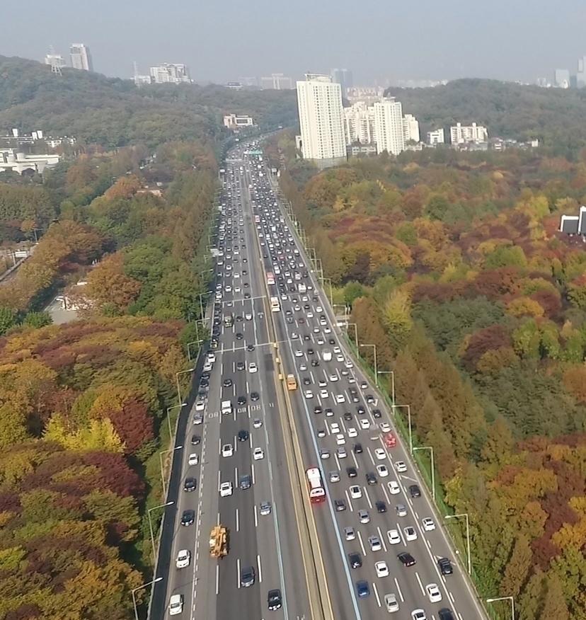 경부고속도로 서초구 구간 (자료화면)