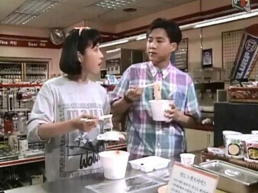 1992년 MBC 드라마 <질투>는 편의점이 대변하는 미학적 소비주의가 일반 대중에게 친숙해지는 결정적 계기가 되었다