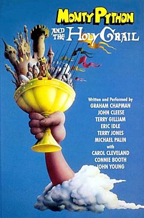 영화 <몬티 파이튼의 성배> 포스터