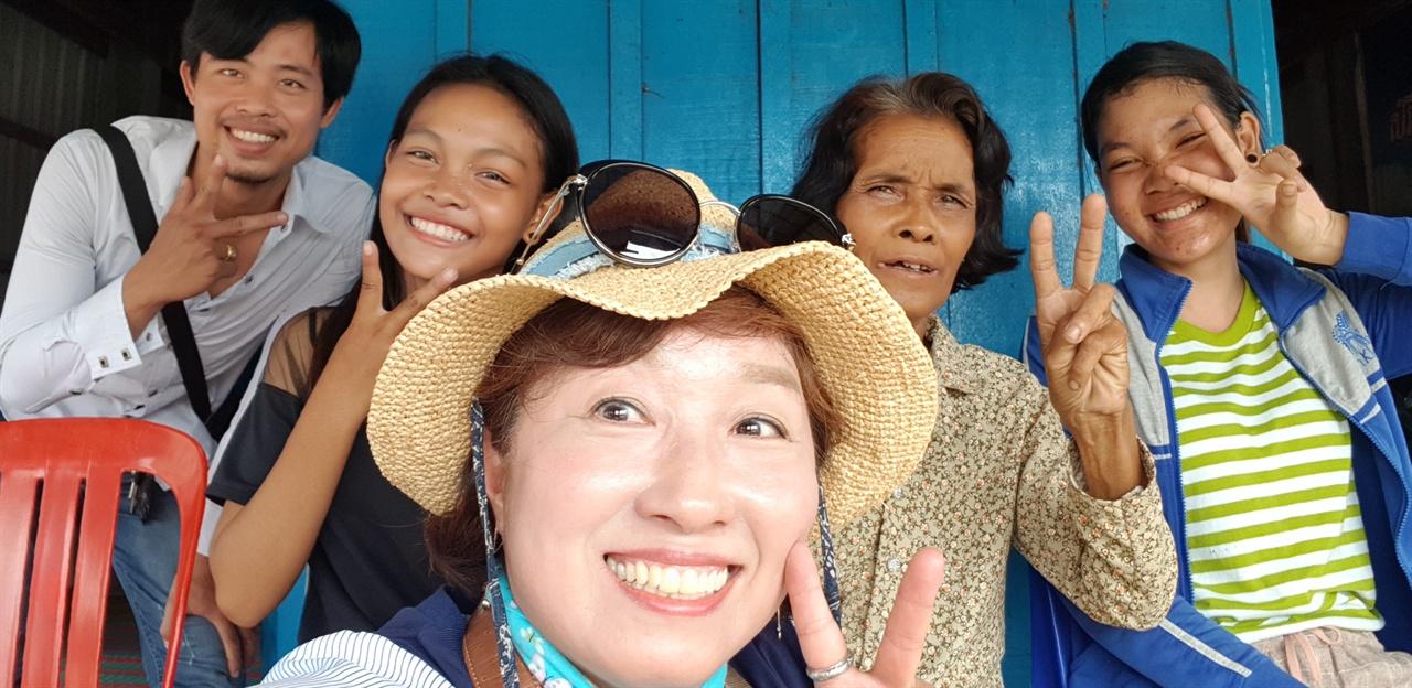 쏘페아 엄마와 두 동생의 건강과 행복을 기원한다