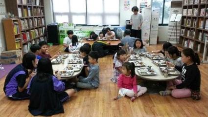 청년여성멘토링사업, 광주여성재단(2017) 광주광역시 남구 송화마을 작은도서관