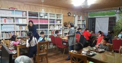 청년여성멘토링사업, 광주여성재단(2017) 광주광역시 광산구 교회 작은도서관
