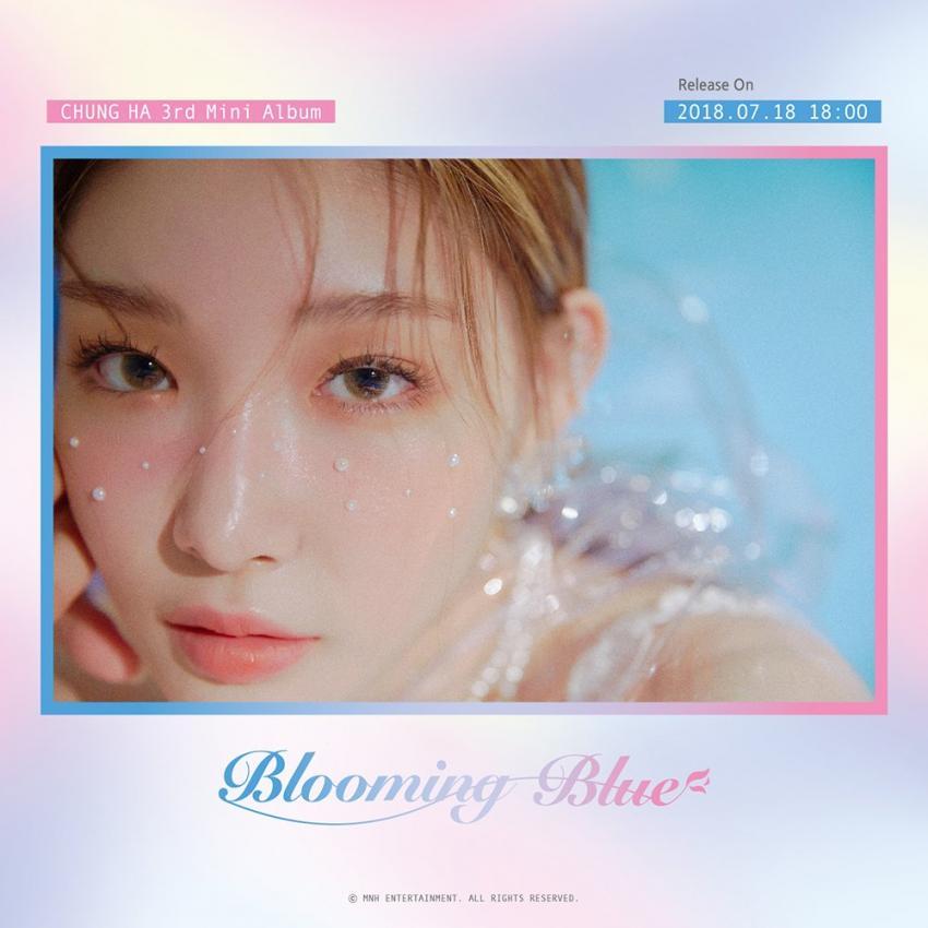 청하 3집 Blooming Blue 청하가 3집 타이틀 Love U로 컴백
