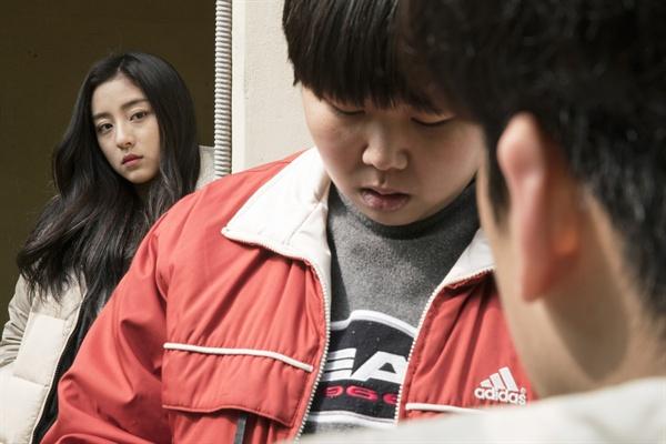 영화 <박화영> 중 한 장면.