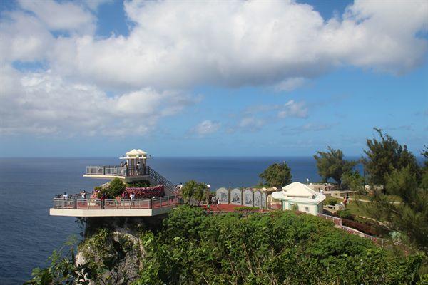괌 사랑의 절벽 전망대