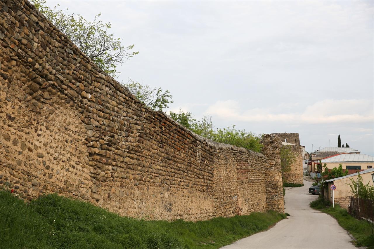 시그나기셩벽 에라클레 2세가 다게스탄족으 침입을 막기 위해 쌓은 성이라고 전해진다.